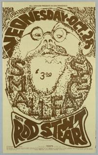 Poster, Rod Stewart