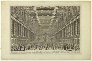 Print, Interior of the Spanish R