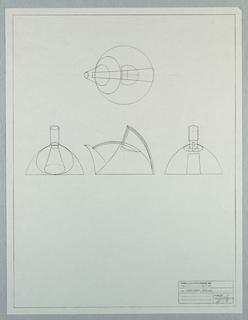 Photostat, Scale drawing of a teapot