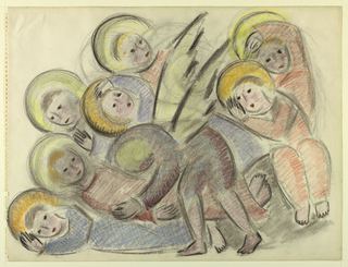 Drawing, The Seven Sleepers
