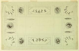 Drawing, Palazzo Quirinale, Rome;, 1812