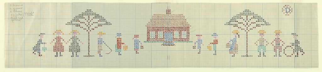 Pattern For Counted Embroidery (USA)