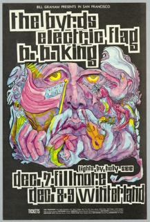 Poster, The Byrds / Electric Flag / B.B. King