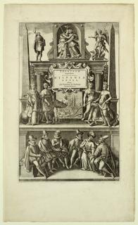 Print, Title Page, Theatrum...Hi, 1602