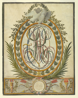 Calligraphy (France & England)
