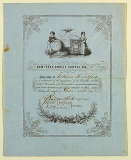 Certificate (FRANCE & U.S.A.)