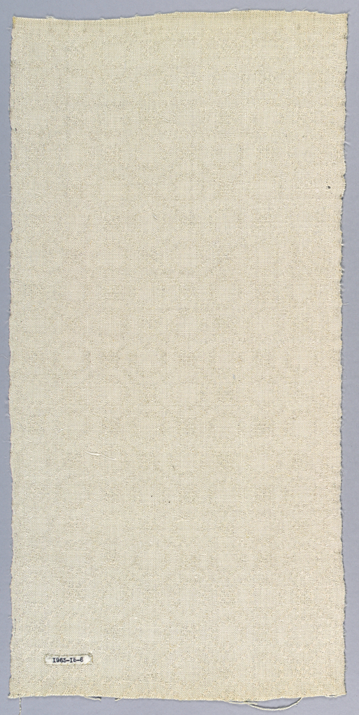 After Jackson Family weaver's book, p. 14b.