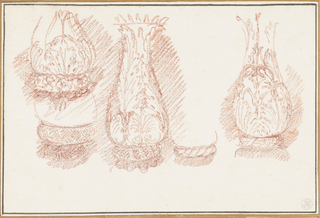 Drawing, Study of balusters