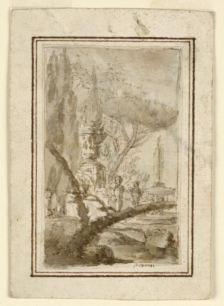 Drawing, Fantasy Landscape