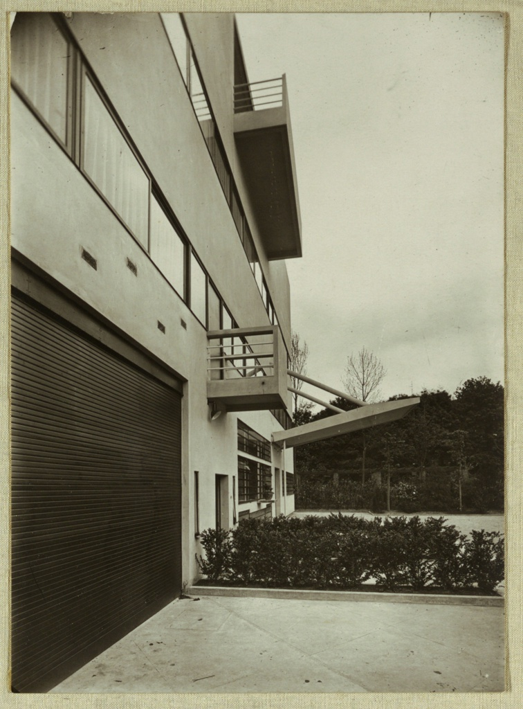 Photograph, Villa Stein-de Monzie, Exterior View, Garches, France