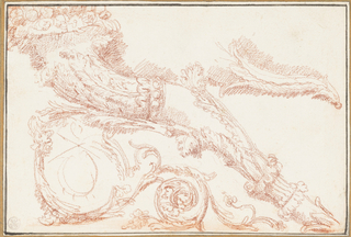 Study for the panel of the Tribune