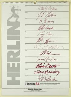 Calendar (USA), 1984