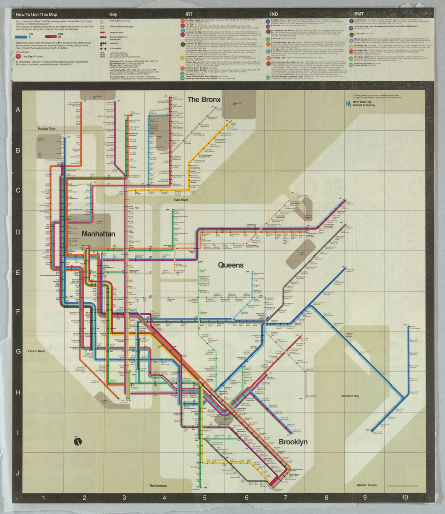 How To Design A Subway Map.Map New York City Subway Map Objects Collection Of Cooper
