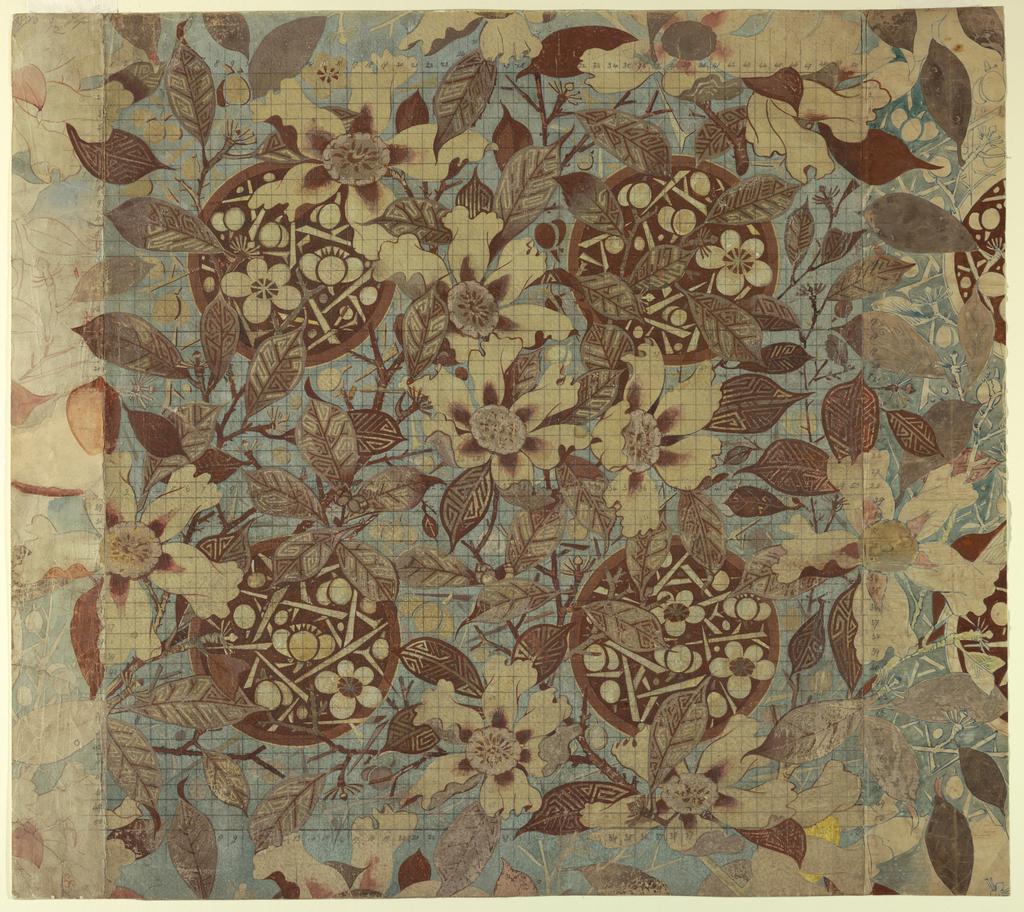Drawing, Textile Design: Japonisme