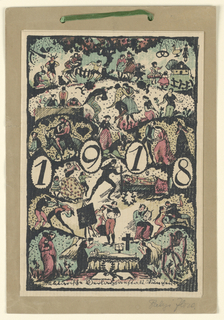 Calender, 1918 Calender