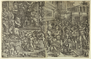 Print, The Massacre of the Innocents, 1517