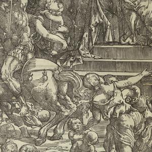 Print, The Massacre of the Innocents, 1517