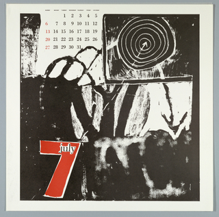 Calendar, Keepsake No. 14, July, 1969