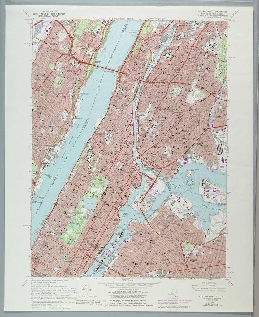 """Map, Map: """"Central Park Quadra"""