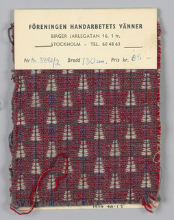 Upholstery Fabric (Sweden)