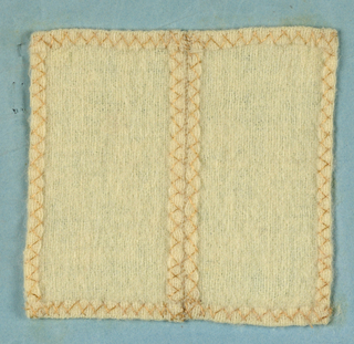 Sewing Instruction Book Samples (USA), 1829