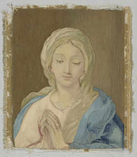 Portrait of the Madonna.