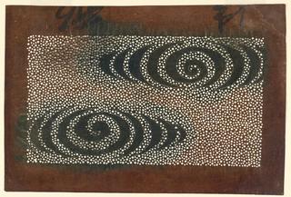 Stencil, Kata-gami: Water Ripples, 1780–1830