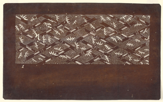 Japanese stencils for textiles