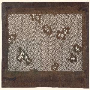 Stencil, Manji Pattern and Grape Leaves