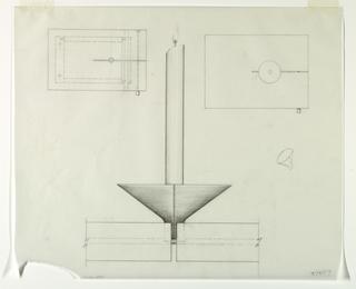 Drawing, Candela Tavola Top: Eleva, 1989