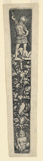 Print, Dagger Sheath