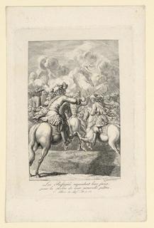 "Print, Scene of Warfare from ""Mémoires de Réfugies, etc."" by Mons. Erman"