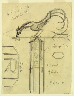 Drawing, Restaurant, ca. 1934