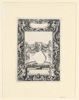 Print, Plate, from Emblemata nobilitati et vulgo scitu digna  (Emblems worth knowing noble and common men)