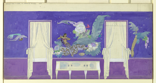 Drawing, Design for Mural, ca. 1930s