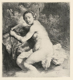 Print, Diana at the Bath, ca. 1639