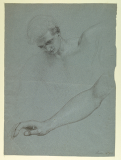 "Drawing, Study for ""Mercy's Dream"", 1857–58"