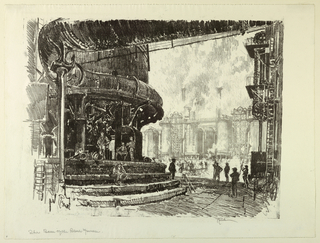 Print, The Base of the Blast Furnace