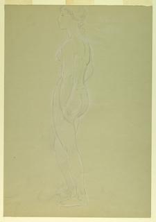 "Drawing, Study for ""Martha Washing, 1860"