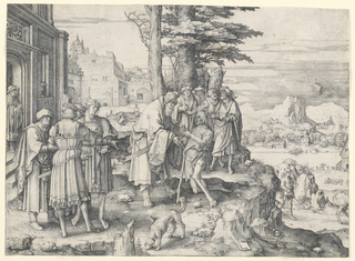 Print, Return of the Prodigal Son, 1510