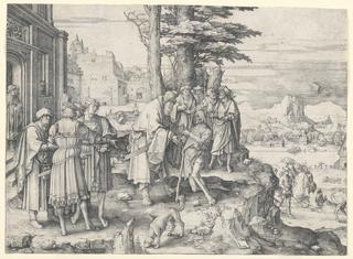 Print, Return of the Prodigal Son, 1510
