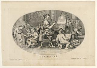 Print, La Peinture