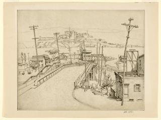 Print, Fishkill Landing, ca. 1936