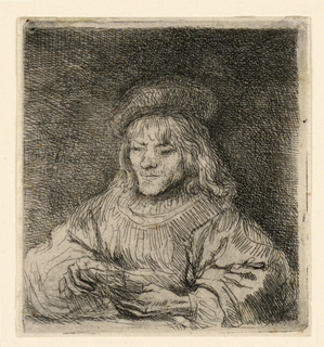 Print, The Card Player, 1641