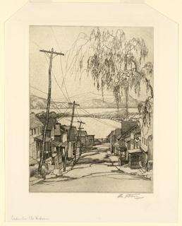 Print, Croton-on-the-Hudson, ca. 1931