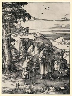 Print, Abraham's Sacrifice, 1517–18