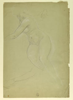 """Drawing, Study for """"Justice and Pe, 1886"""
