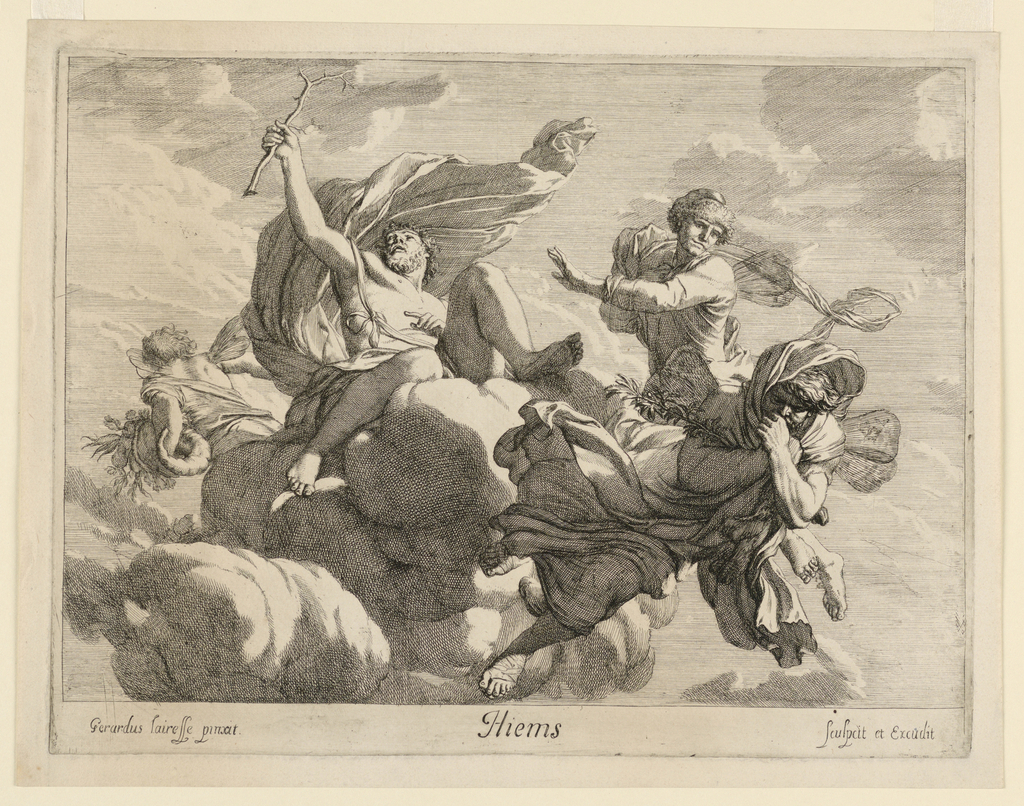 Print, Hiems (Winter), ca. 1680