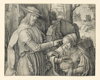 Print, Christ Appearing to Mary Magdalen