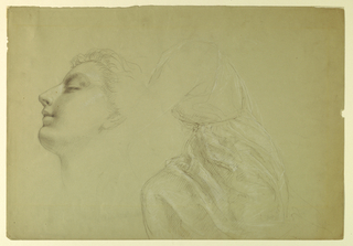"Drawing, Study for ""Justice and Peace"", 1886"